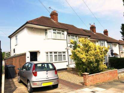 2 Bedrooms End Of Terrace House for sale in Castle Road, Northolt