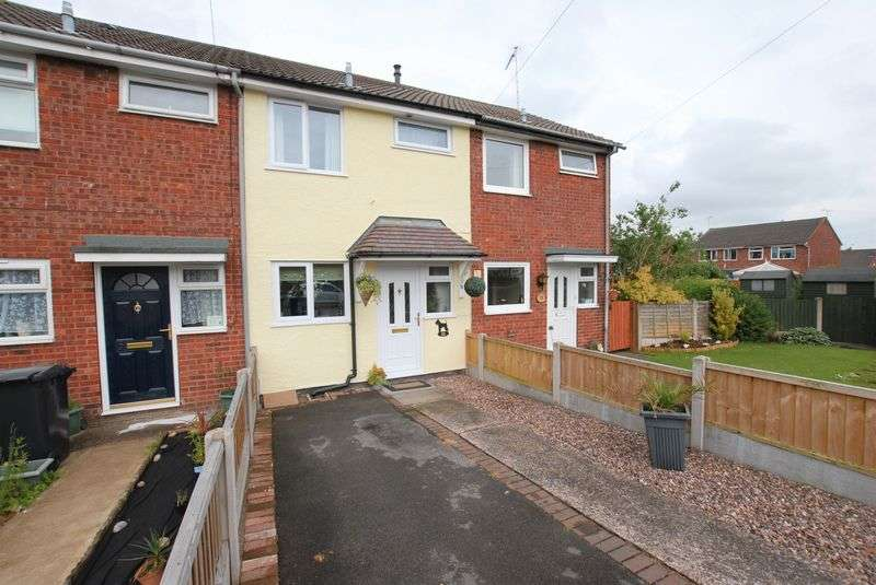 2 Bedrooms Terraced House for sale in Oak Close, Uttoxeter