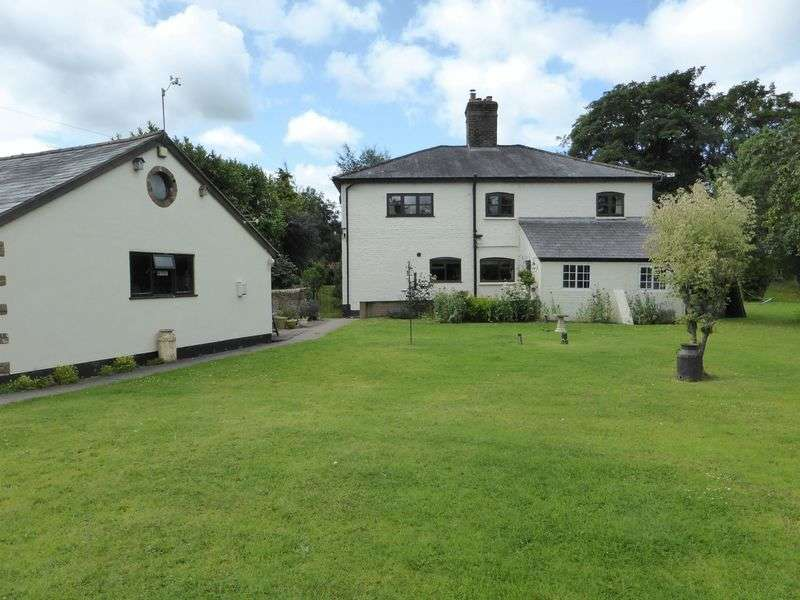 4 Bedrooms Detached House for sale in The Mill House, Maesbrook, Nr Oswestry