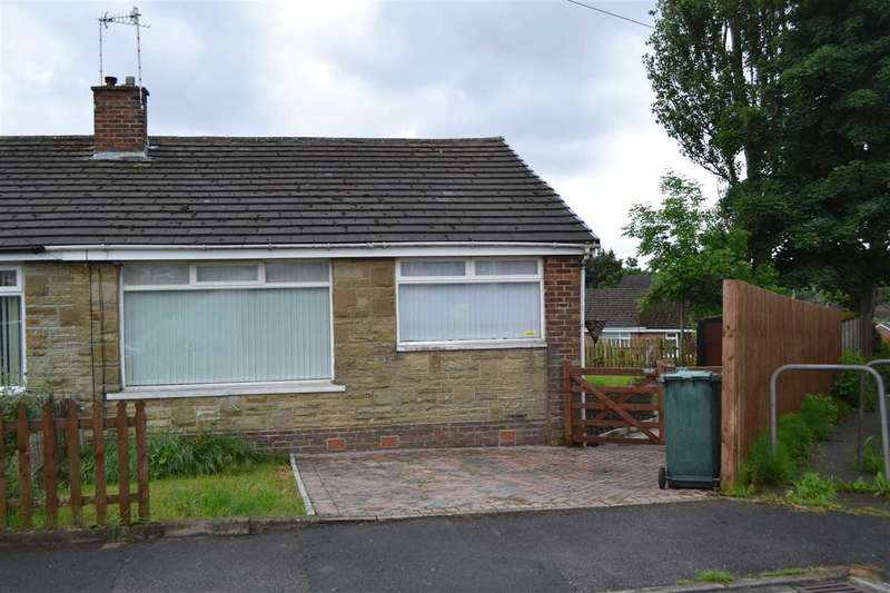 2 Bedrooms Semi Detached Bungalow for sale in Leaventhorpe Way, Fairweather Green, Bradford