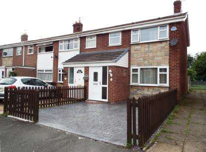 3 Bedrooms Semi Detached House for sale in Fieldview Drive, Warrington, Cheshire