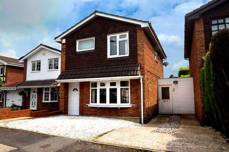 3 Bedrooms Detached House for sale in Lexington Green, Brierley Hill, West Midlands, DY5 3LE