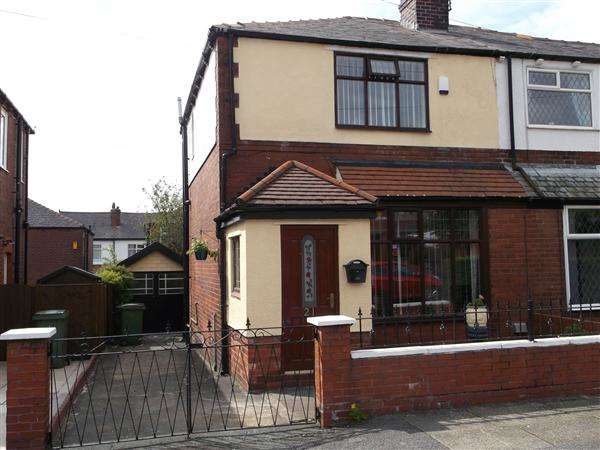 2 Bedrooms Semi Detached House for sale in Tenby Avenue, Heaton, Bolton
