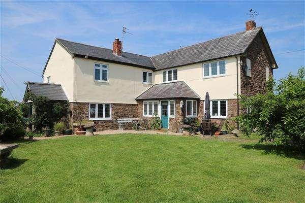 6 Bedrooms Detached House for sale in Llangarron, Llangarron, Ross-on-Wye