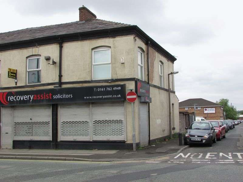 Commercial Property for sale in Walmersley Road, Bury - Shop & Flat