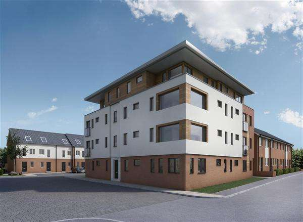 2 Bedrooms Apartment Flat for sale in The Woodlands, Chesterfield
