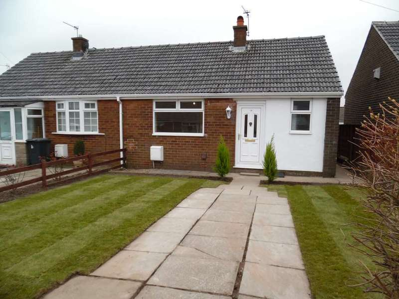 2 Bedrooms Bungalow for sale in Rushmount, High Crompton, Shaw.