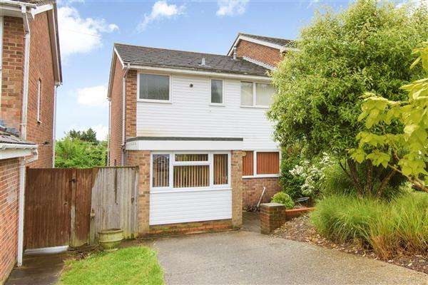 3 Bedrooms Semi Detached House for sale in Westerham Close, Canterbury