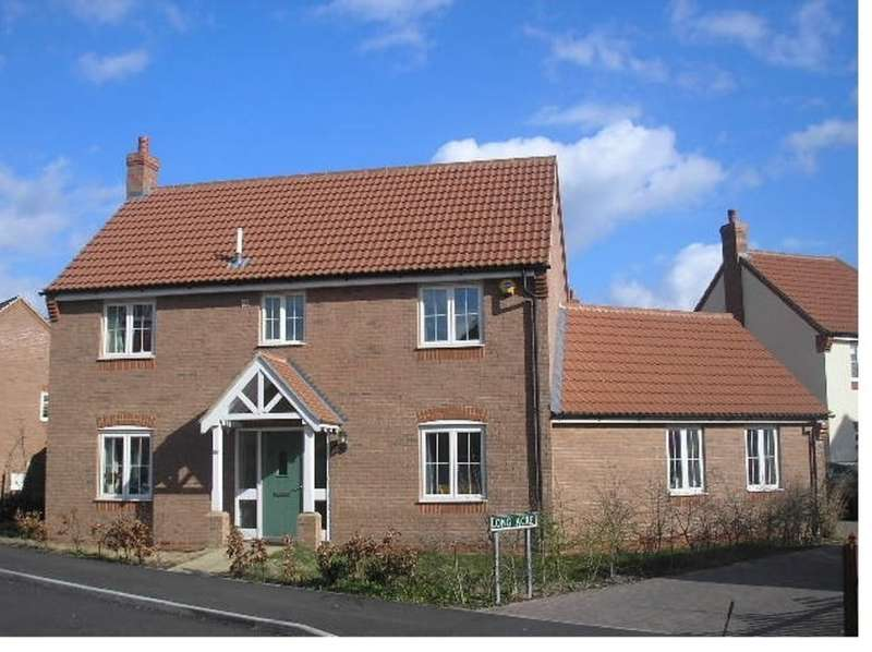 4 Bedrooms Detached House for sale in Haywain Drive, Deeping St Nicholas, PE11 3TQ
