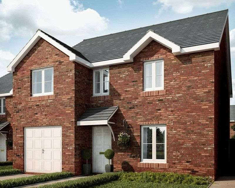 4 Bedrooms Detached House for sale in Plot 11, Ponthir Road, Newport