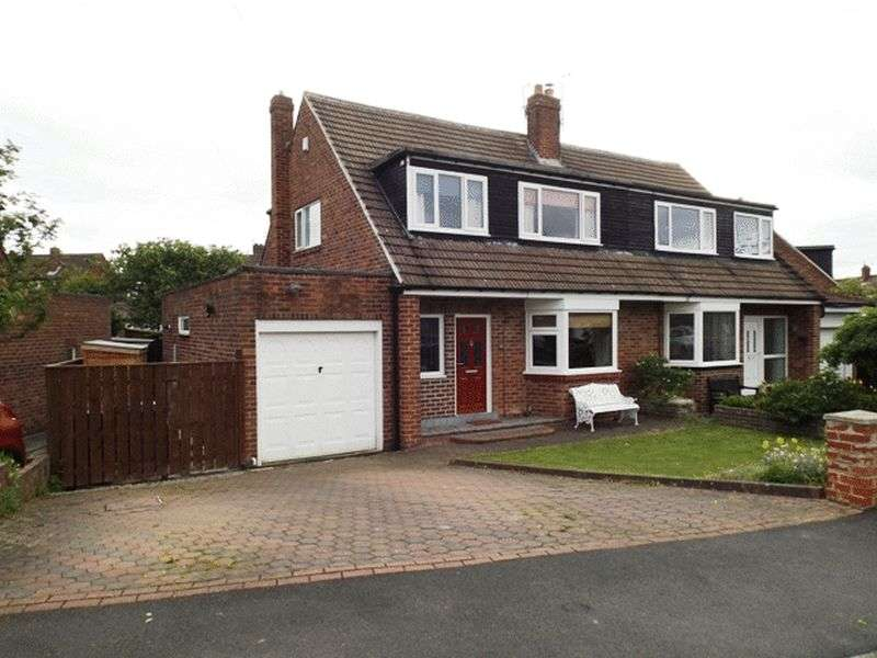 3 Bedrooms Semi Detached House for sale in The Fairway, Loansdean - Three Bedroom Semi Detached House