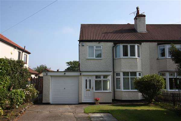 3 Bedrooms Semi Detached House for sale in Greenfield Road, Little Sutton