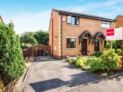 2 Bedrooms Semi Detached House for sale in Berwick Drive, Burnley, Lancashire