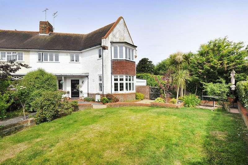 4 Bedrooms Semi Detached House for sale in Manor Road, Worthing