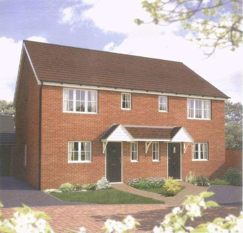3 Bedrooms Semi Detached House for sale in A brand new development at Bramble Chase , Honeybourne, Worcestershire WR11 7XR