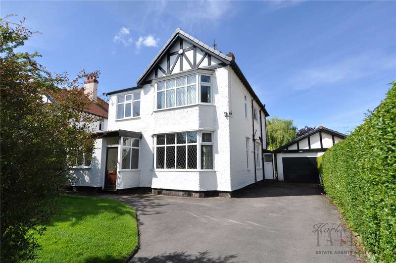 4 Bedrooms Detached House for sale in West Drive, Upton, Wirral