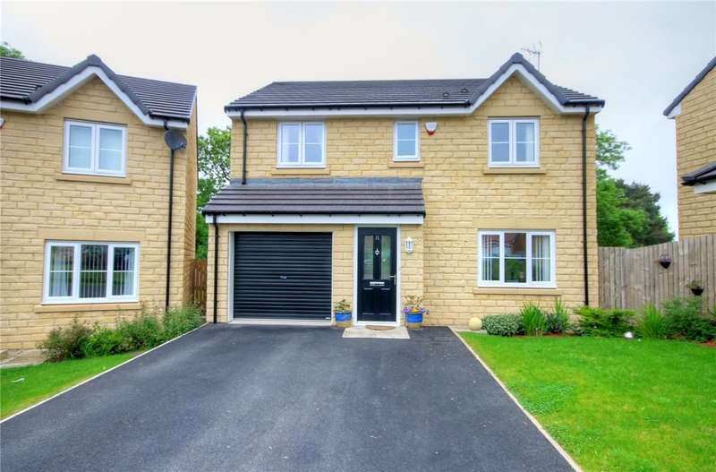 4 Bedrooms Detached House for sale in Kielder Drive, The Middles, Stanley, DH9