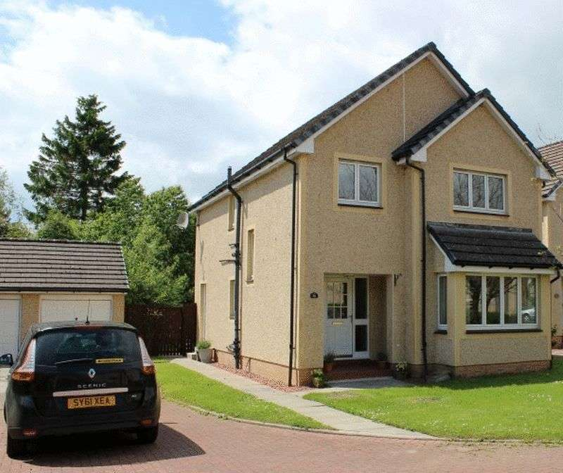 4 Bedrooms Detached House for sale in 36 Crossburn Farm Road, Peebles