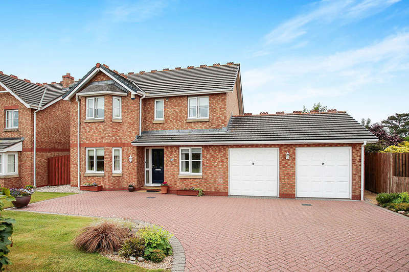 4 Bedrooms Detached House for sale in Lowmoor Road, Wigton, CA7