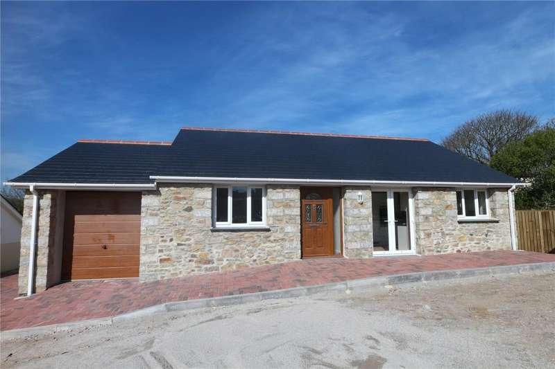 3 Bedrooms Detached Bungalow for sale in Willstone Meadow, Praze, Cornwall