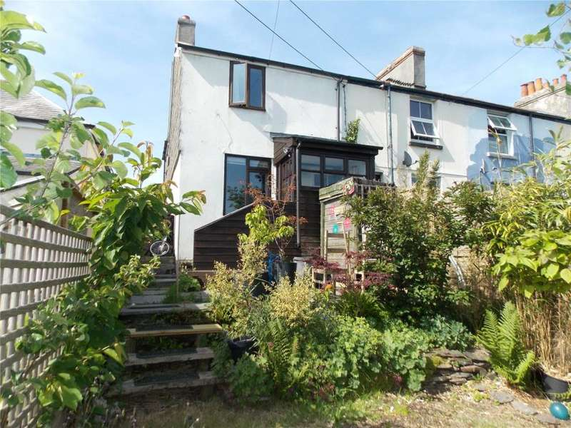 2 Bedrooms End Of Terrace House for sale in Higher Cleaverfield, Launceston, Cornwall
