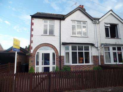 4 Bedrooms Semi Detached House for sale in Exeter Road, West Bridgford, Nottingham, Nottinghamshire