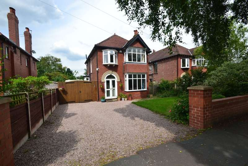 3 Bedrooms Detached House for sale in Shepley Drive, Hazel Grove, Stockport SK7 6LE