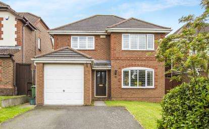 4 Bedrooms Detached House for sale in Anthony Close, Syston, Leicester, Leicestershire