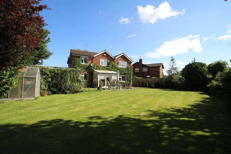 4 Bedrooms Detached House for sale in William Close, Queniborough, Leicestershire