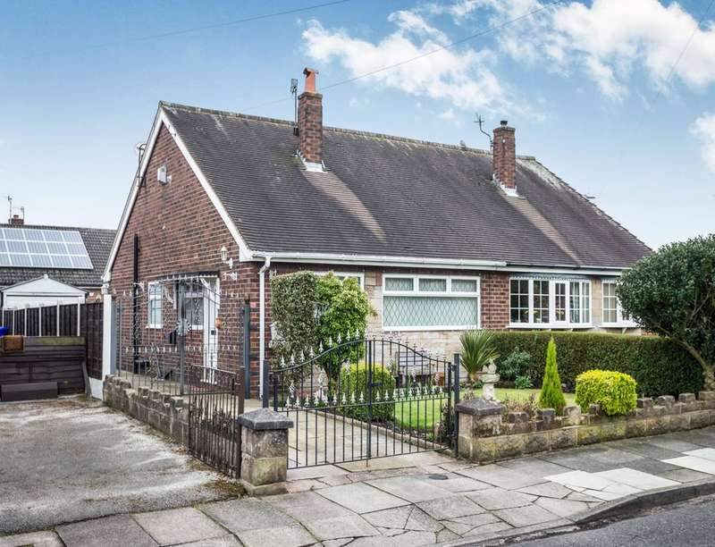 2 Bedrooms Semi Detached Bungalow for sale in Astro Grove, Longton, Stoke-On-Trent, ST3