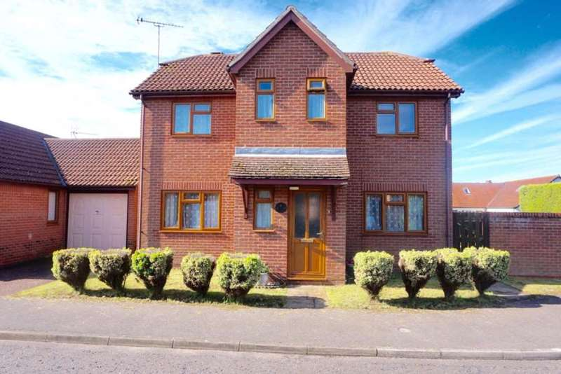4 Bedrooms Detached House for sale in Broke Hall Gardens, Ipswich