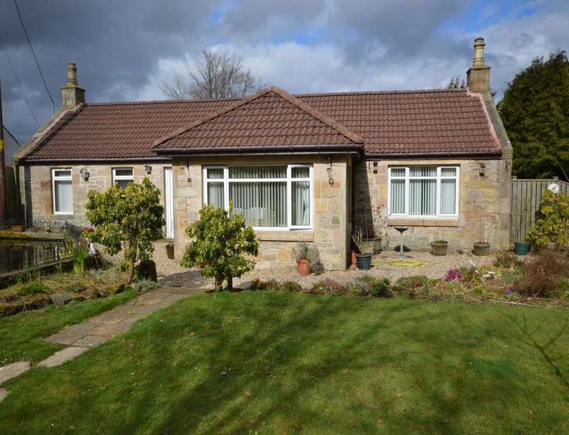 3 Bedrooms Detached Bungalow for sale in Moat Cottage Balmulzier Road, Slamannan, Falkirk, FK1