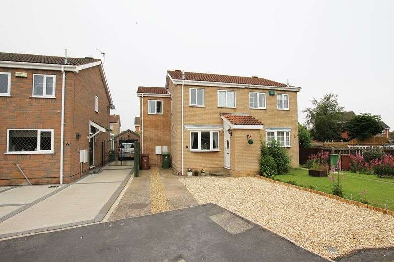 3 Bedrooms Semi Detached House for sale in ESKHAM CLOSE, CLEETHORPES