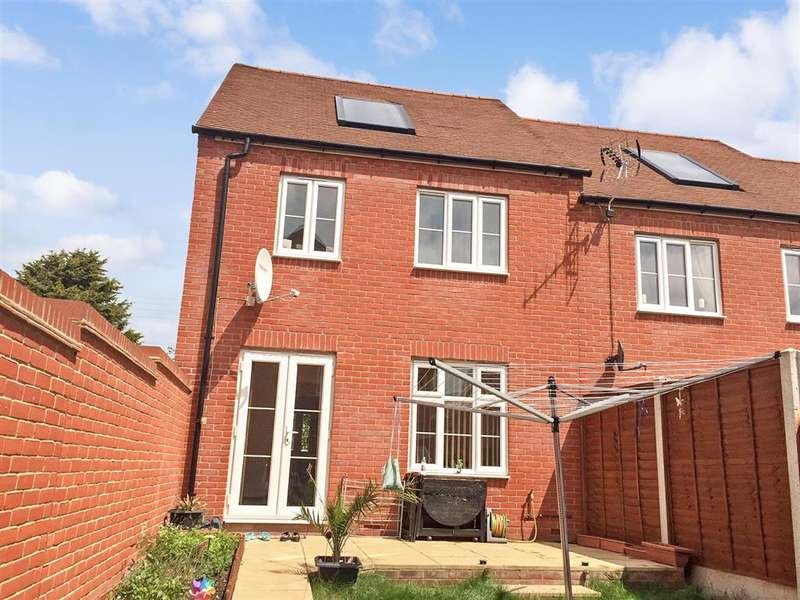 3 Bedrooms End Of Terrace House for sale in East Hall Walk, Sittingbourne, Kent