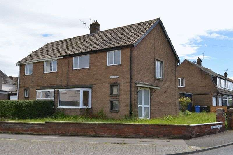 3 Bedrooms Semi Detached House for sale in Osborne Road, Tweedmouth, Berwick-Upon-Tweed