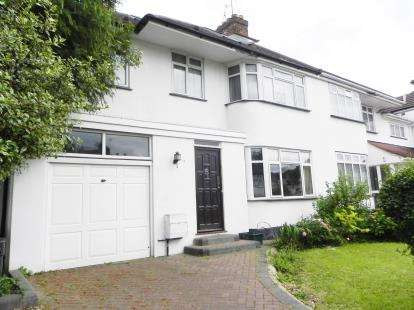 5 Bedrooms Semi Detached House for sale in Ilmington Road, Kenton, Harrow, Middlesex