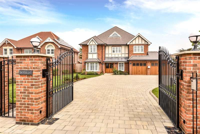 5 Bedrooms Detached House for sale in Victoria Road, Milford on Sea, Lymington, Hampshire, SO41