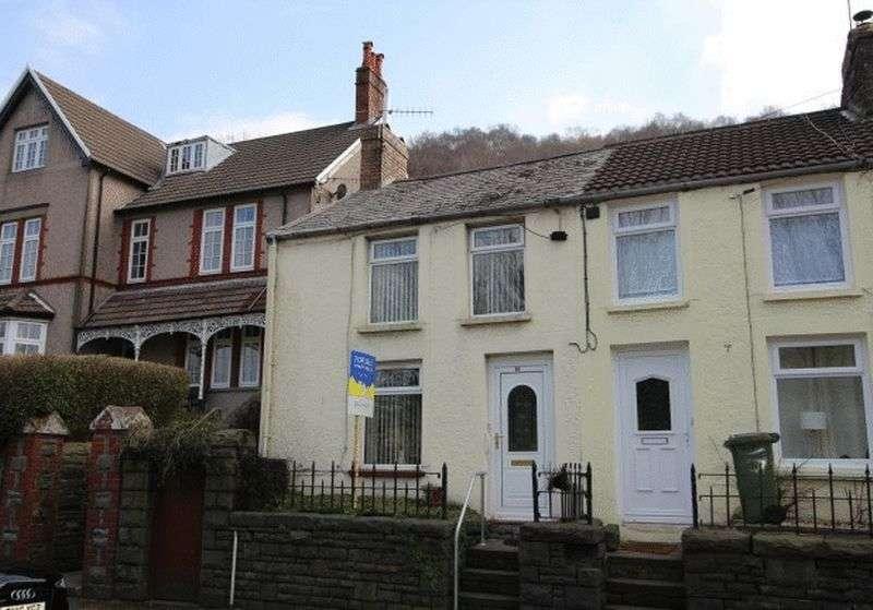 2 Bedrooms Terraced House for sale in Pontshonnorton Road, Pontypridd, CF37 4ND