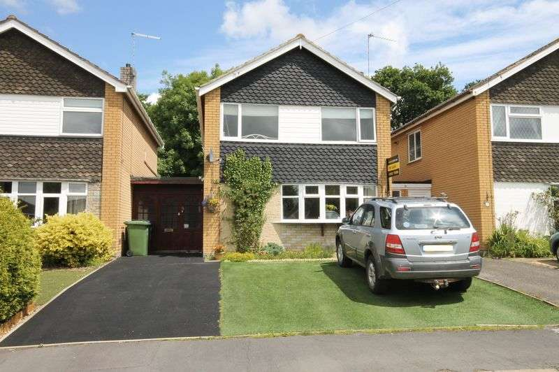 3 Bedrooms Detached House for sale in Borden Close, Wheaton Aston