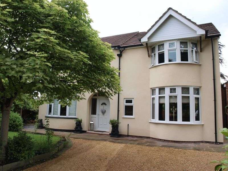 4 Bedrooms Detached House for sale in Four Winds, Cookes Lane, Northwich, CW9 7RS