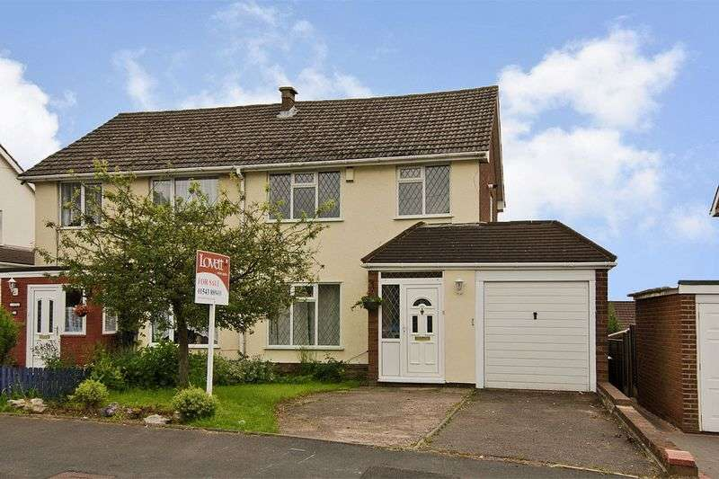 3 Bedrooms Semi Detached House for sale in Parkhill Road, Burntwood