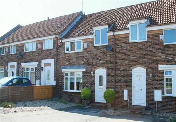 2 Bedrooms Terraced House for sale in Rothwell Mews, Eston, Middlesbrough, North Yorkshire