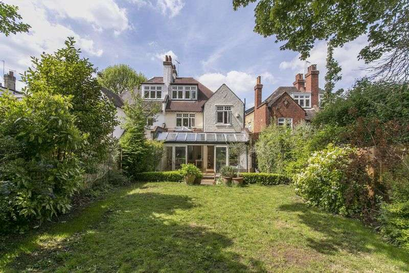 5 Bedrooms Semi Detached House for sale in Hornsey Lane Gardens, Highgate, N6