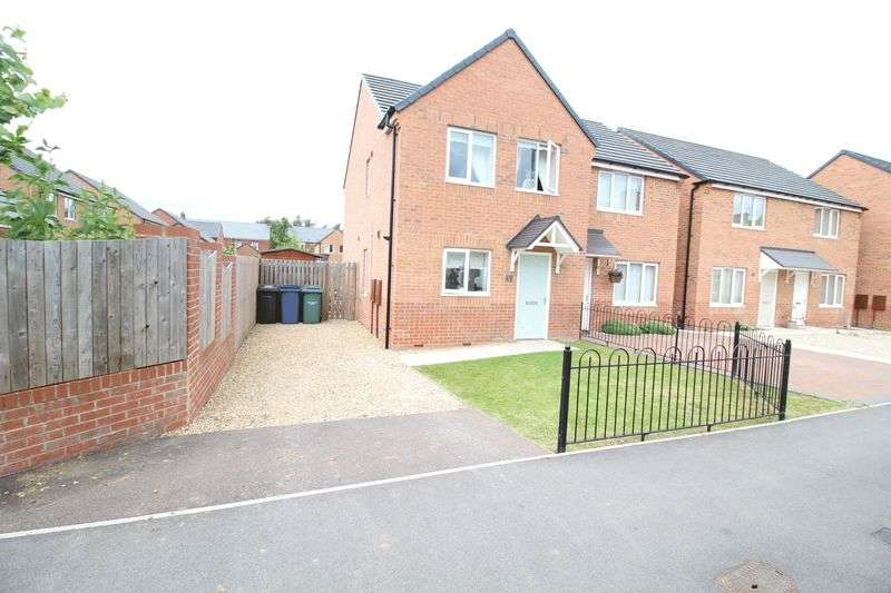 3 Bedrooms Semi Detached House for sale in Birch Street, Jarrow