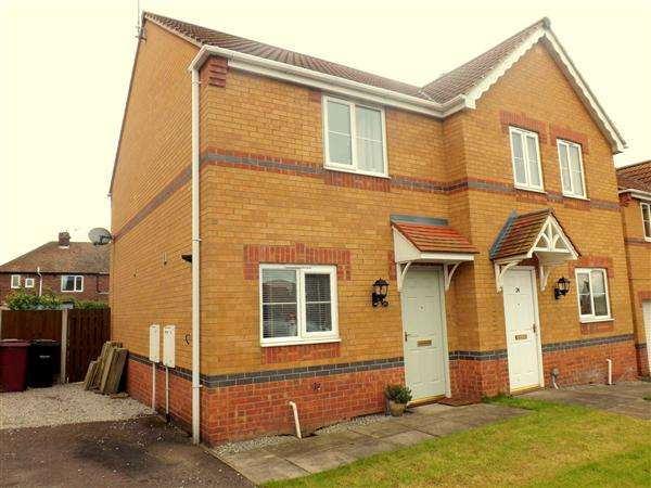 2 Bedrooms Semi Detached House for sale in Linnet Way, Clowne, Chesterfield