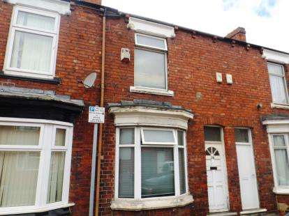 2 Bedrooms Terraced House for sale in Aubrey Street, Middlesbrough, North Yorkshire