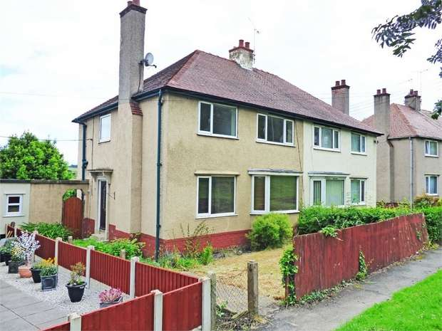 3 Bedrooms Semi Detached House for sale in Maes Y Dre, Mold, Flintshire