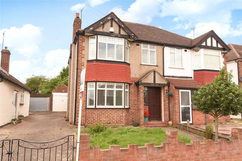 3 Bedrooms Semi Detached House for sale in Collins Drive, Eastcote, Middlesex, HA4