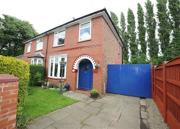 3 Bedrooms Semi Detached House for sale in 241 Liverpool Road, Irlam, M44 6BR