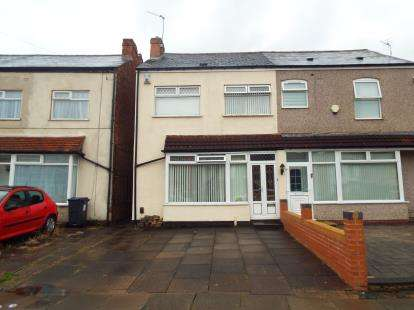 3 Bedrooms Semi Detached House for sale in Clements Road, Birmingham, West Midlands